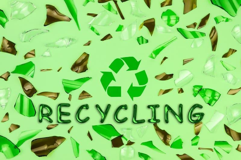 Przetwarzanie odpadów szklanych