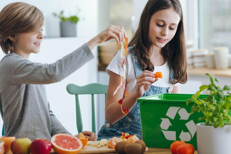 Segregacja odpadów w domu
