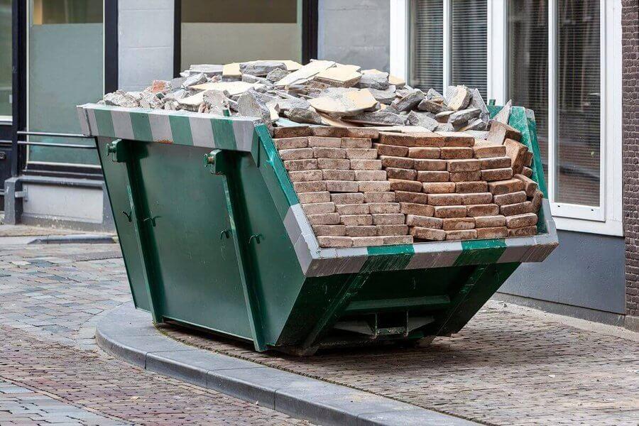 segregacja odpadów budowlanych